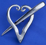 Spoonman Forkheart Scatter Pin