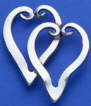 Spoonman Double Forkheart Pin