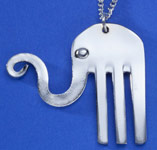 Spoonman Happy Elephant Necklace