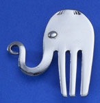 Spoonman Happy Elephant Pin