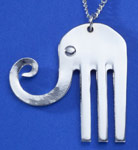 Spoonman Lucky Elephant Necklace