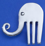 Spoonman Lucky Elephant Pin