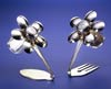 Spoonman Spoon Flower Salt and Pepper Shakers