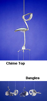 Pelican with Spoonfish and Forkfish Chime