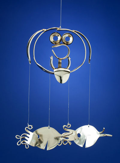 Puppy with Forkfish and Spoonfish Chime