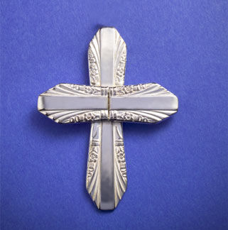 Spoon Handle Cross Pin