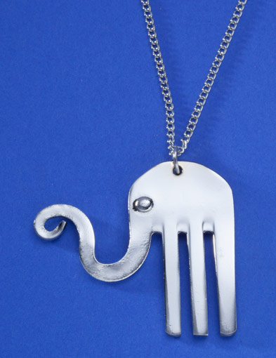 Happy Elephant Necklace